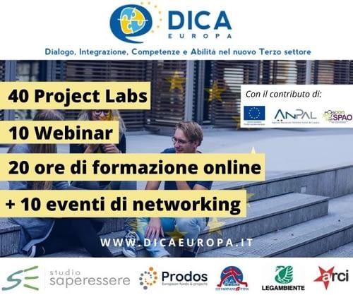 DICA Europa! - Dialogo, Integrazione, Competenze e Abilità per un nuovo Terzo settore