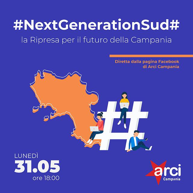 #NextGenerationSud#: il 31 maggio l'evento online