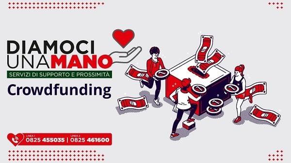 Diamoci una mano: crowdfunding per la rete di solidarietà ad Avellino