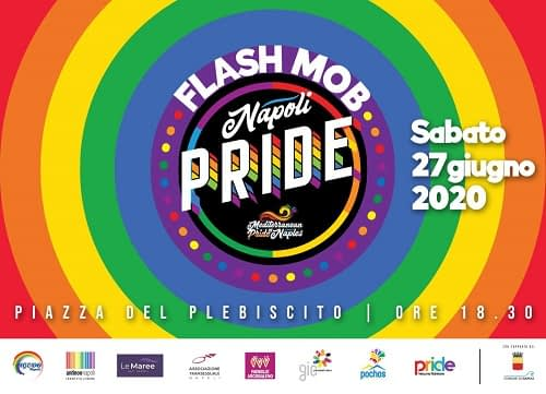 Napoli Pride 2020: Flash Mob in Piazza del Plebiscito